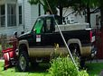 1995 Chevy Silverado K2500 Pickup Truck with Snow Plow